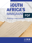 SA's economy will suffer if immigrants are sent home