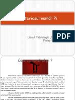 Misteriosul Numar Pi