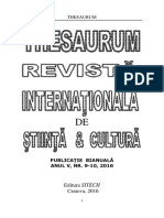 Revista THESAURUM Nr. 9, 10_2016_Adriana Raducan