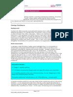 Design Portfolio Audits and Risk AssessmentA15
