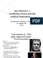 Tony Harrison 2015