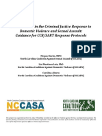 Best Practices in the Criminal Justice Response to Domestic Violence and Sexual Assault - Toolkit