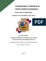 Diseño y Analisis de Un Sistema de Control Analogico Para Seguimiento Solar Final