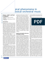Meteorological Phenomena in Western Classical Orchestral Music