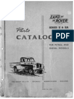 Land Rover Series II & IIA, 2 & 2A Parts Cat.