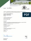 Certificado GFE ISO 9001
