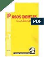 sheets_Editions Universelles - Recueil n°15 _ Pasos Dobles Classiques (4 Titres)