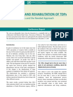 The Return and Rehabilitation of TDPs