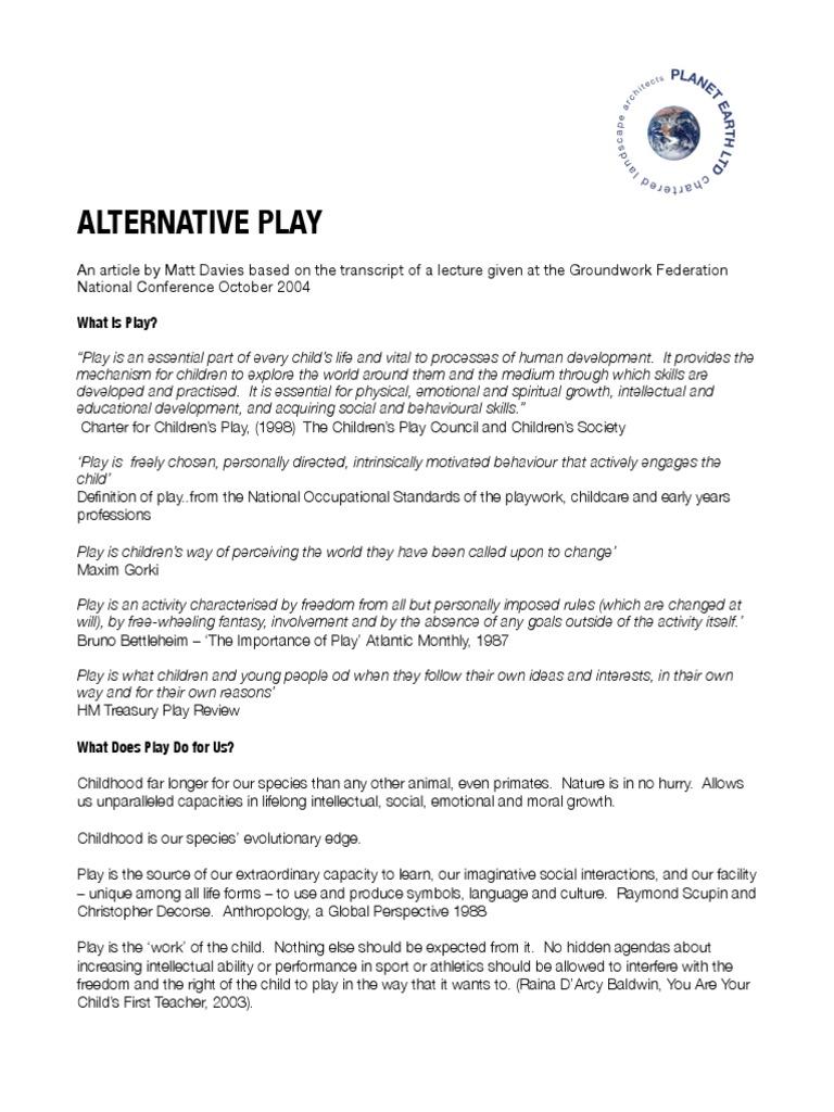 Alternative play playground intelligence nvjuhfo Images