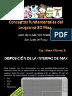 Conceptos Fundamentales Del Programa 3D Max