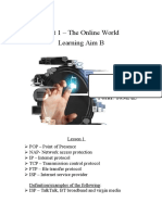 unit 1 the online world guide learning aim b