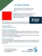 VDA Flyer - 6 5 Product Audit