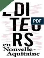 Repertoire Des Editeurs en Nouvelle Aquitaine 2017