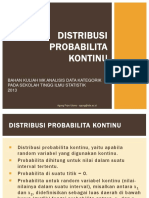 Continuous Prob Distribution