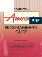Computes Amiga Programmers Guide