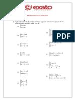 Sistemas de 1º Grau (1)