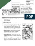 1920s vs 1950s essay prep