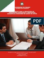Reglamento de Banco Datos  de la Universidad de Panamá