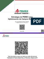 Estrategia de PEMEX Para Optimización de Campos Maduros A