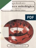 APOLODORO - Biblioteca mitológica.pdf