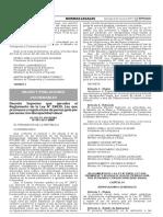 Reglamento de La Ley n 29830 DECRETO SUPREMO Nº 001-2017-MIMP