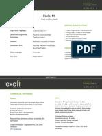 Pavlo M CV Exoft