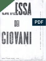 Marcello Giombini - La Messa Dei Giovani