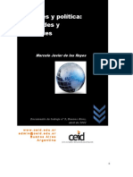 De Los Reyes, M. (2002) Deportes y Política. Multitudes y Dirigentes