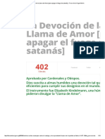 La Devoción de La Llama de Amor [Para Apagar El Fuego de Satanás] » Foros de La Virgen María