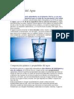 Importancia Del Agua - Investigacion