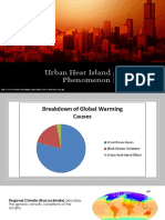Urban Heat Island Phenomenon