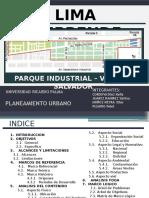 Planeamiento Urbano - Trabajo Final - Lima Emprende