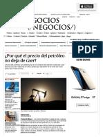 ¿Por Qué El Precio Del Petróleo No Deja de Caer_ - Grupo Milenio