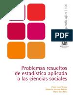 Problemas Resueltos de Estadistica Aplicada a Las Ciencias Sociales