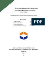 Evaluasi Proses Produksi Tepung Tapioka Pada UD. Insan Kamil Menggunakan Aplikasi Promodel 8.5.