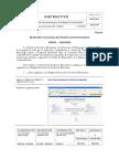 Instructivo de Control de Productos Envasados  ( CEP) ASESOR
