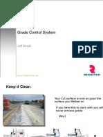 Grade Control System Training CIR
