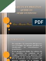 Balances en Procesos Químicos Semicontinuos