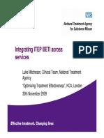 BTEI Integrating ITEP BETI Across