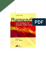 Aulton__PharmaceuticsThe Science of Dosage Form Design 2 Ed