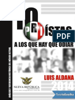 10 Priistas a Los Que Hay Que Odiar - Luis Aldana