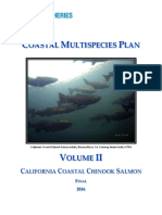 2016 Chinook Salmon Recovery Plan