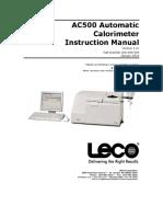 AC 500 GCV Manual