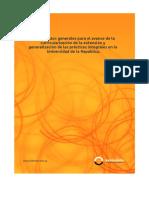 Lineamientos Para La Curricularización de La Extensión (2011)