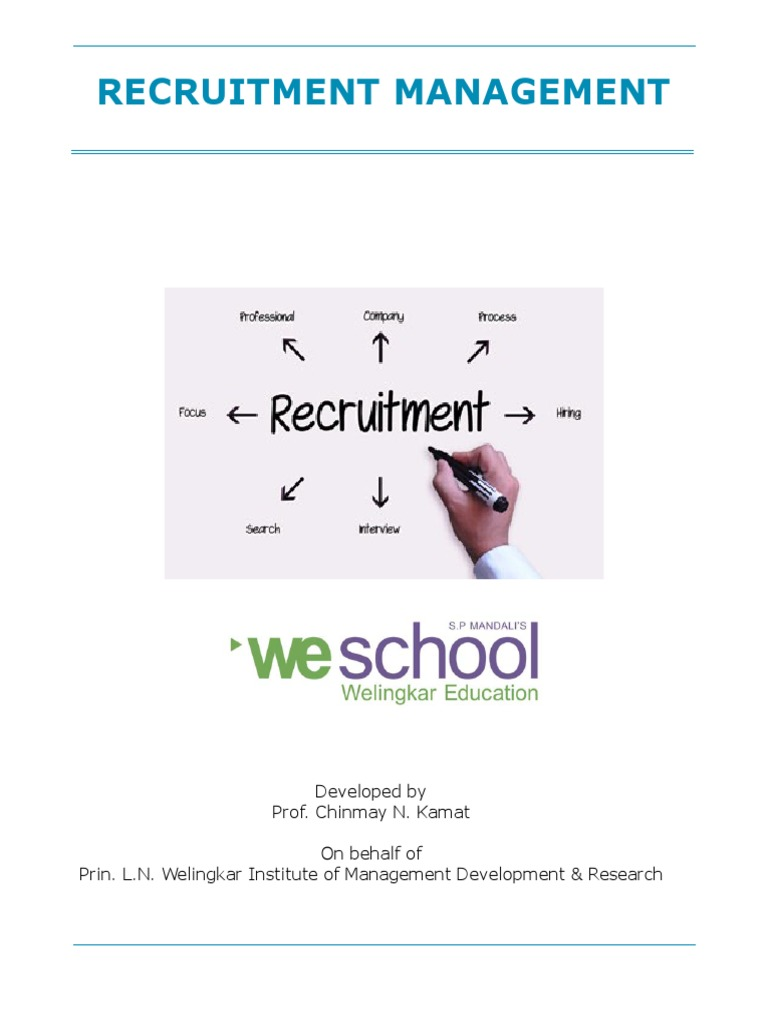 recruitment management 312 v1 recruitment employment