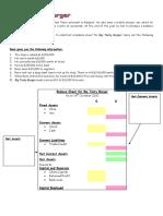 Balance Sheet Activity