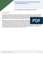30 Formas Inovadoras de Usar RFID