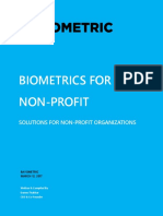 Biometrics for Non Profit