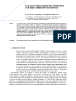A Hybrid Fuzzy-based Personalized Recommender System for Telecom Products Services
