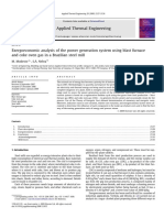 Exergoeconomic analysis of the power generation system using blast furnace.pdf